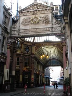 Leadenhall market / Bishopsgate, London, England, GB