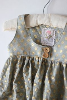 handmade baby tank dress by TheStampCollection