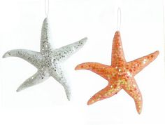 Sparkle Starfish Ornaments 40% off 11/17/2015