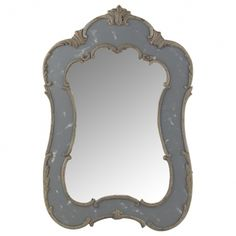 mirror Acanthus, Living Room Decor, Neutral, Mirror, Accessories, Moody Blues, Bliss, Home Decor, Bathrooms