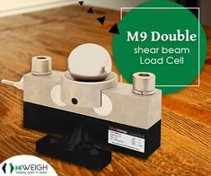 This double shear beam #LoadCell is an alloy steel made heavy duty structure with M9 #analog output & M9D #digital output. Buy it @ www.hiweigh.com/product-details/m9-double-shear-beam-load-cell