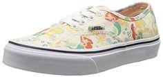 Disney Vans, Disney Girls, Skate Shoes, Vans Shoes, Vans Kids, Buy Vans, Girls Sneakers, Vans Authentic, Ariel
