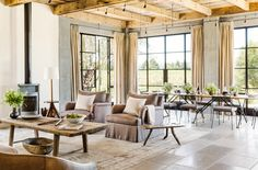 Tour an Absolutely Stunning Wine Country Retreat via @MyDomaineAU