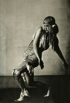 Lucia Joyce dancing at Bullier Ball, Paris, May 1929. @designerwallace