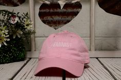 Vintage FEMINIST Baseball Cap Dad Hats Baseball Hat Low Profile Embroidery Pink  ✷ Pink   ✷ 100% Cotton   ✷ One Size adjustable strap   ✷ Shipping from Long Beach, CA   ✷ If you have any questions or concerns please feel free to send us a message