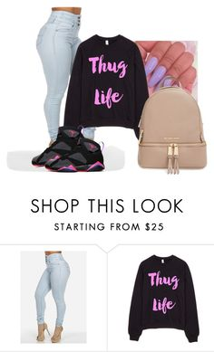 """""""Untitled #833"""" by miss-eli-pink ❤ liked on Polyvore featuring MICHAEL Michael Kors"""