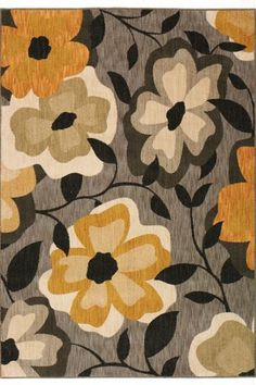 Perfect rug for a grey and yellow room omg I need this!!