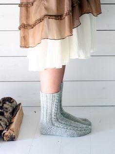 Palmikkosukat Novita 7 Veljestä | Novita knits