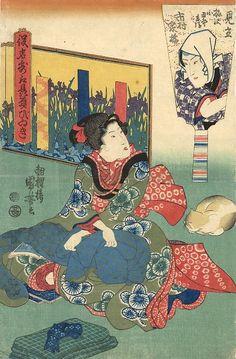 浮世絵に描かれた江戸時代のジャニオタ 歌川国芳「役者気取贔屓びいき」:DDN JAPAN