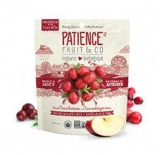 Patience Fruit & Co. - Canneberges séchées biologique sucrées au jus de pomme