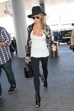 Chrissy Teigen arrives at LAX in Los Angeles on July 2, 2015   - Cosmopolitan.com