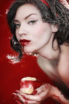 """""""About Snow White"""" by Anastasia Galaktionova, via 500px."""