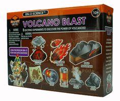 Tedco Toys Volcano Blast Science Kit