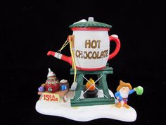 Dept 56 Hot Chocolate Tower Orig Box North Pole Series No 56.56872 Christmas