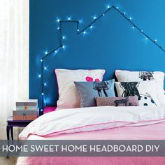 How To: Home Sweet Home Headboard DIY