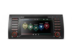 """PDAB7153B - 7"""" HD Digital Touch Screen Dual CANbus GPS Navigator Car DVD Player with Screen Mirroring Function Built-in DAB + Tuner Custom Fit for BMW E53 xtrons.co.uk/"""