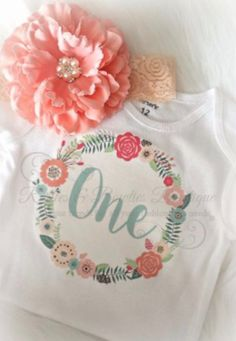For your boho babe who is beautiful inside out, full of heart with a soul free as can be. Pair with adorable floral shorts for the perfect outfit. This listing is for the onesie/bodysuit (or toddler s Wild One Birthday Party, Garden Birthday, Baby Girl First Birthday, Princess Birthday, Birthday Bash, First Birthday Parties, First Birthdays, Birthday Ideas, Diy For Kids