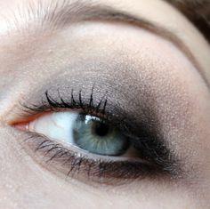 Taupey brown smokey eye w/ Fyrinnae loose eyeshadows.