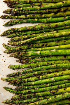 We love making all of these asparagus dishes during Easter and Spring, and now you can make them too. Here are our favorite asparagus recipes, whether you love grilling, sautéing, or roasting! Grilled Asparagus Recipes, Asparagus Dishes, Baked Asparagus, Grilled Vegetables, Asparagus On The Grill, Grilled Food, Asparagus Pasta, Side Dishes For Salmon, Side Dishes For Chicken