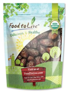 Food To Live ® Organic Medjool Dates (5 Pounds) * Details can be found at http://www.amazon.com/gp/product/B015PWVRRW/?tag=pinbaking-20&pkl=110716061826