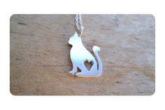 Kitty pendant by Secrets Unearthed Jewellery