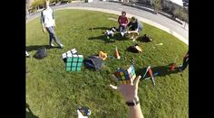 My Mind Has Been Blown To Bits - Solving Three #Rubiks Cubes While Juggling
