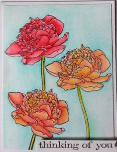 My Love,My Heart, My Art: would I surprise you if I told you I have another Flower Garden card?