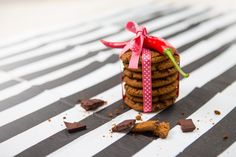 Recept: Cookies med choklad