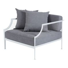 rex-armchair-white-steel-ash-grey-cushion-angle