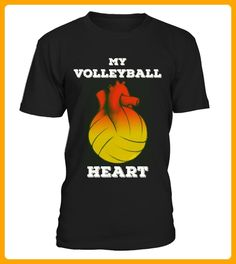 My Volleyball Heart - Volleyball shirts (*Partner-Link)