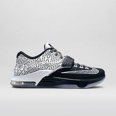 "1423a7a35e4d7 NIKE KD 7 ""BHM"" Sneaker Steal ❤ liked on Polyvore featuring shoes"