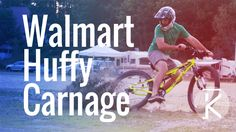 Walmart mountain bikes are not made for downhill MTB trails. Curiosity got the best of me so picked up a Huffy Carnage at my local Walmart. Will a Walmart Hu...