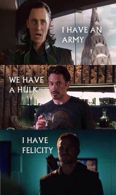 Arrow memes. I do like Felicity more then Bruce, just sayin'.