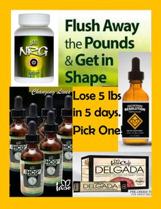 My company Total Life Changes has provided us with organic products, that when taken in combination, can help you lose 1-3 lbs per day. Yes! Per day. We have our HCG drops, NRG (energy), Resolution, Slimming Delgada Coffee, and more to aid weight loss!