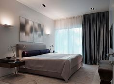 10 Small Bedroom Decorating Tips orange guest bedroom Blissful Bedroom Design 21 I like the tailored b. Dark Curtains, White Sheer Curtains, Bedroom Drapes, Window Curtains, Silk Drapes, Aqua Curtains, Floor To Ceiling Curtains, Layered Curtains, Bedroom Windows