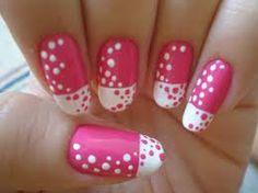 Roze en wit