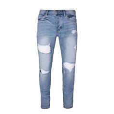 Iggy Distressed Skinny Jeans