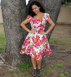 Plus Size Dress by HotRodJohnnyDesigns, $38.00