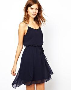 Warehouse Diamante Strap Dress