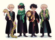 Harry Potter Book 8, Cute Harry Potter, Harry Potter Magic, Images Harry Potter, Harry Potter Drawings, Harry Potter Ships, Harry James Potter, Harry Potter Anime, Harry Potter Universal