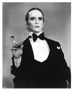 Master Of Ceremonies (Joel Grey in Cabaret) One of my favorite musicals. sjh
