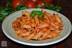RETETE DE POST - CAIETUL CU RETETE Vegetarian Recipes, Cooking Recipes, Penne, Carrots, Pizza, Vegetables, Food, Drinks, Vegan Food