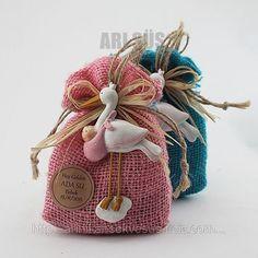 Leylek Biblolu Kız Bebek Şekeri Hasır Çuval Lavanta Kesesi (ID#980365): satış, İstanbul'daki fiyat