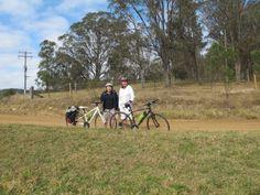 Early morning bike ride on Narone Creek Road, Wollombi