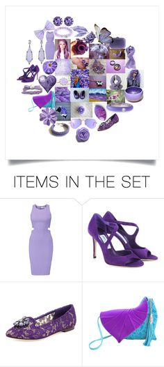"""""""Lavender & Lilac"""" by crystalglowdesign ❤ liked on Polyvore featuring art"""