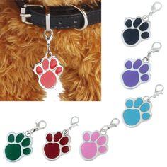 Fashion Lovely Popular Footprints Puppy Rhinestone Pendant Cat Dog Pet Jewelry A Cat Paw Print, Shops, Cat Dog, Pet Paws, Pet Id Tags, Animal Jewelry, Dog Jewelry, China Jewelry, Jewellery