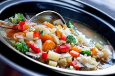 Low Carb Crockpot Meals...LOTS!!!  Also Crock Pot/Oven Time Conversions    Oven cooking time // Crock pot cooking time     15 - 30 minutes //1.5 -2 hours with high heat or 4 - 6 hours with low heat   30 - 45 minutes// 2 - 3 hours with high heat or 5 - 8 hours with low heat   45 minutes to 2 hours // 4 - 5 hours with high heat or 8 - 15 hours on low heat