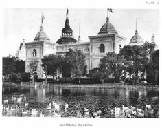Guatemala Building at the World's Columbian Exposition (also known as the Chicago World's Fair), Daniel Burnham World's Columbian Exposition, White City, World's Fair, Daniel Burnham, Taj Mahal, Chicago, Building, Travel, Viajes