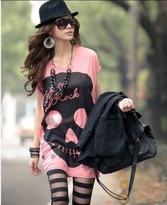 i really like this outfit. It edgy but cute!