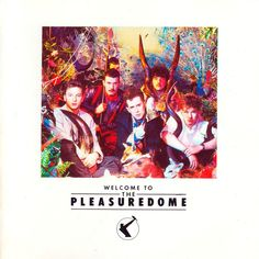 Carátula Frontal de Frankie Goes To Hollywood - Welcome To The Pleasure Dome